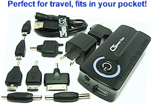 Universal USB Battery Pack and Charger