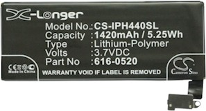 Apple 616-0521 Battery Replacement