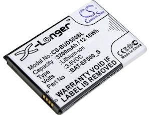 Bluebird BAT-EF500-S Battery Replacement