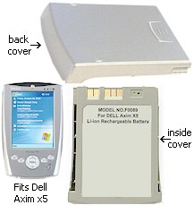 Dell Axim 1X390 Battery Replacement