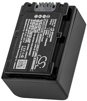 Sony NP-FV50A Battery Replacement