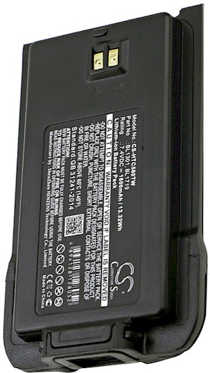 HYT BL1301-EXT Battery Replacement
