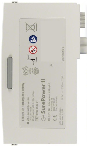 Zoll 8000-0580-01 Battery Replacement
