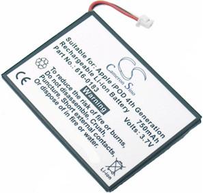 iPod Battery 4th Gen & U2 Battery Replacement