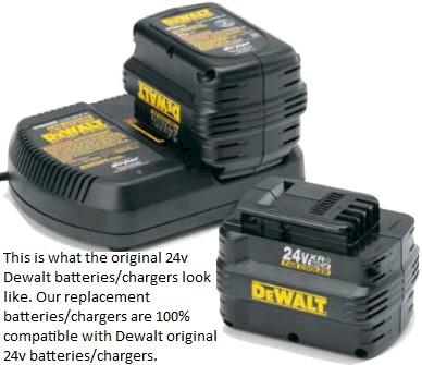 dewalt 24v charger replacement